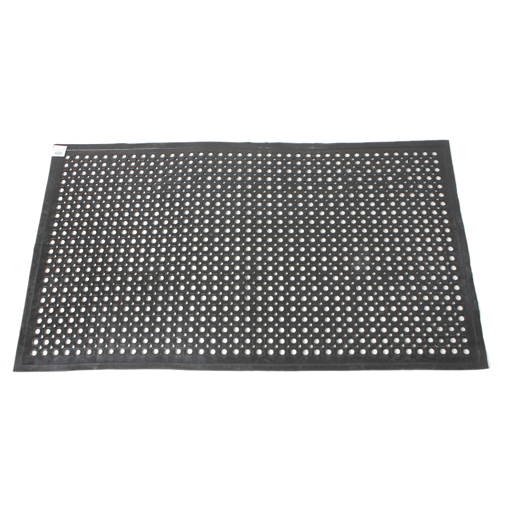 restaurant kitchen floor mats black anti fatigue floor mat 36 quot 60 quot heavy duty 4782