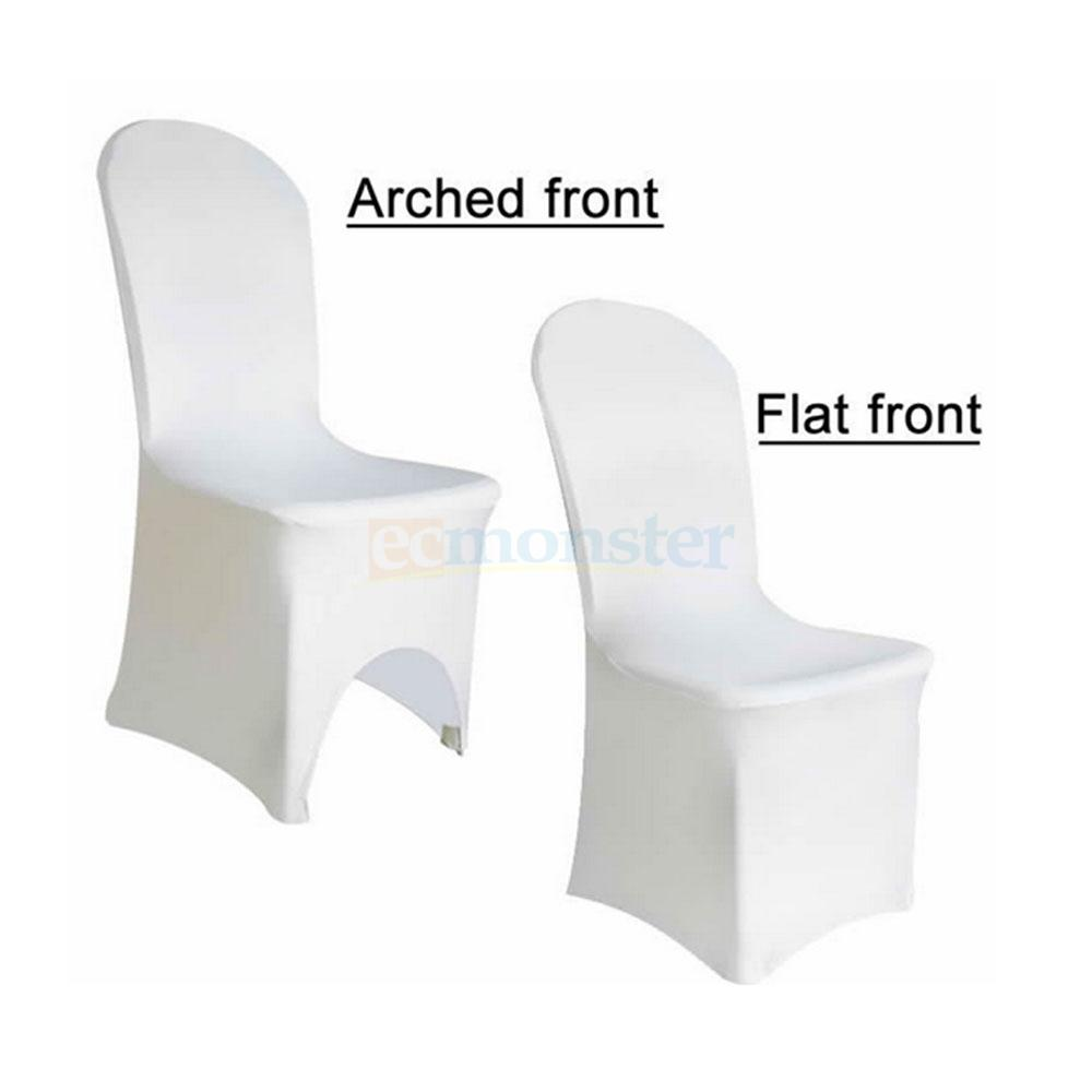 new spandex lycra chair arched flat front covers for wedding party