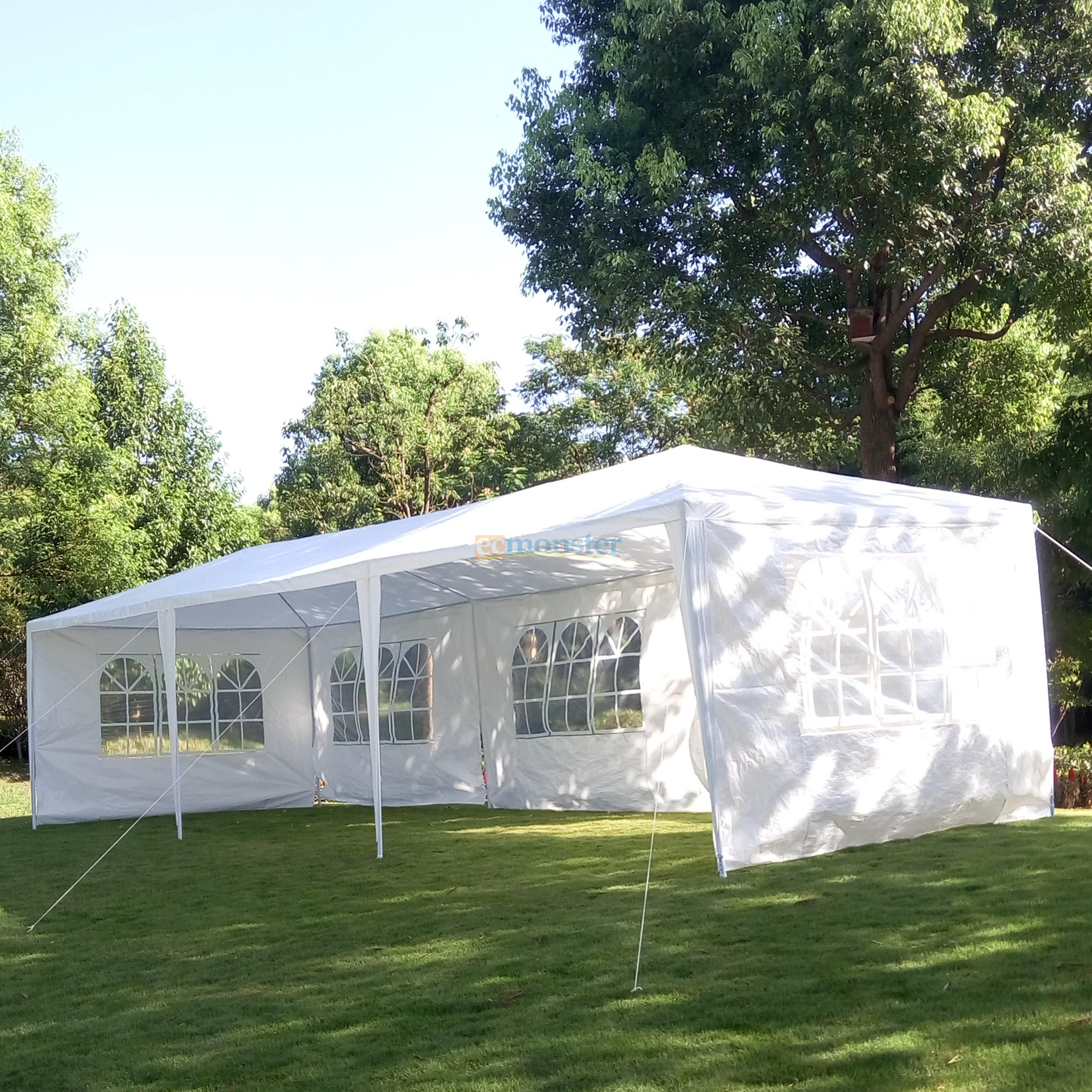 10u0027 X 30u0027 Canopy Outdoor Wedding Party Tent Gazebo Pavilion w/5 Walls Cover New 225386575342 | eBay & 10u0027 X 30u0027 Canopy Outdoor Wedding Party Tent Gazebo Pavilion w/5 ...