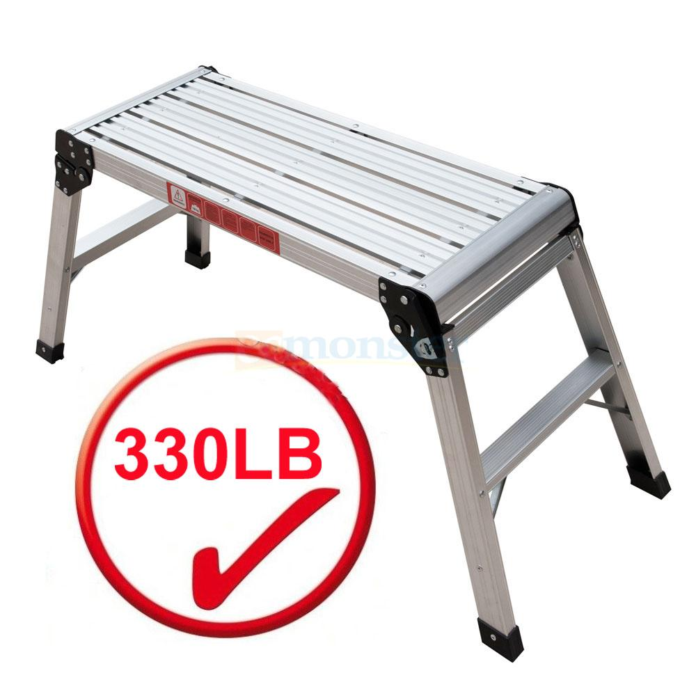 Drywall Step Stool Amp Working Platform 350 Lbs Capacity