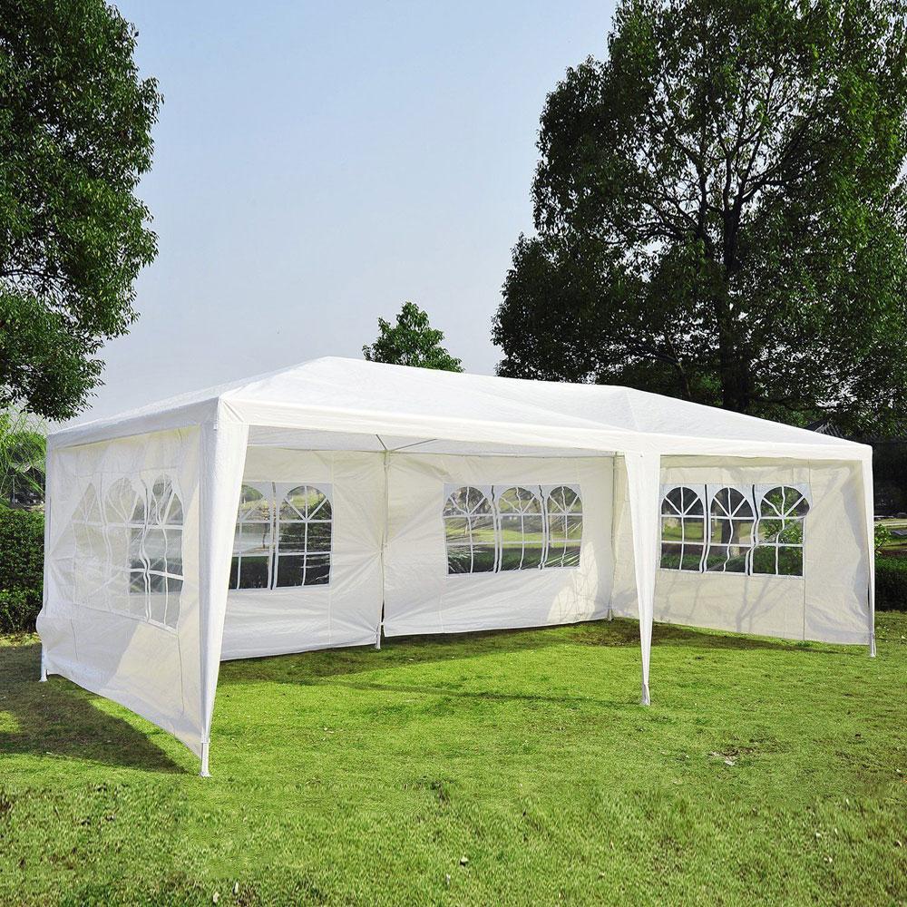 10'x20' White Outdoor Gazebo Canopy Wedding Party Tent 4