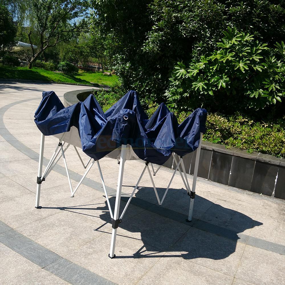 Pop Up Canopy Tent >> 8'X8' Outdoor Easy POP UP Wedding Party Tent Folding Gazebo Beach Canopy Shelter | eBay