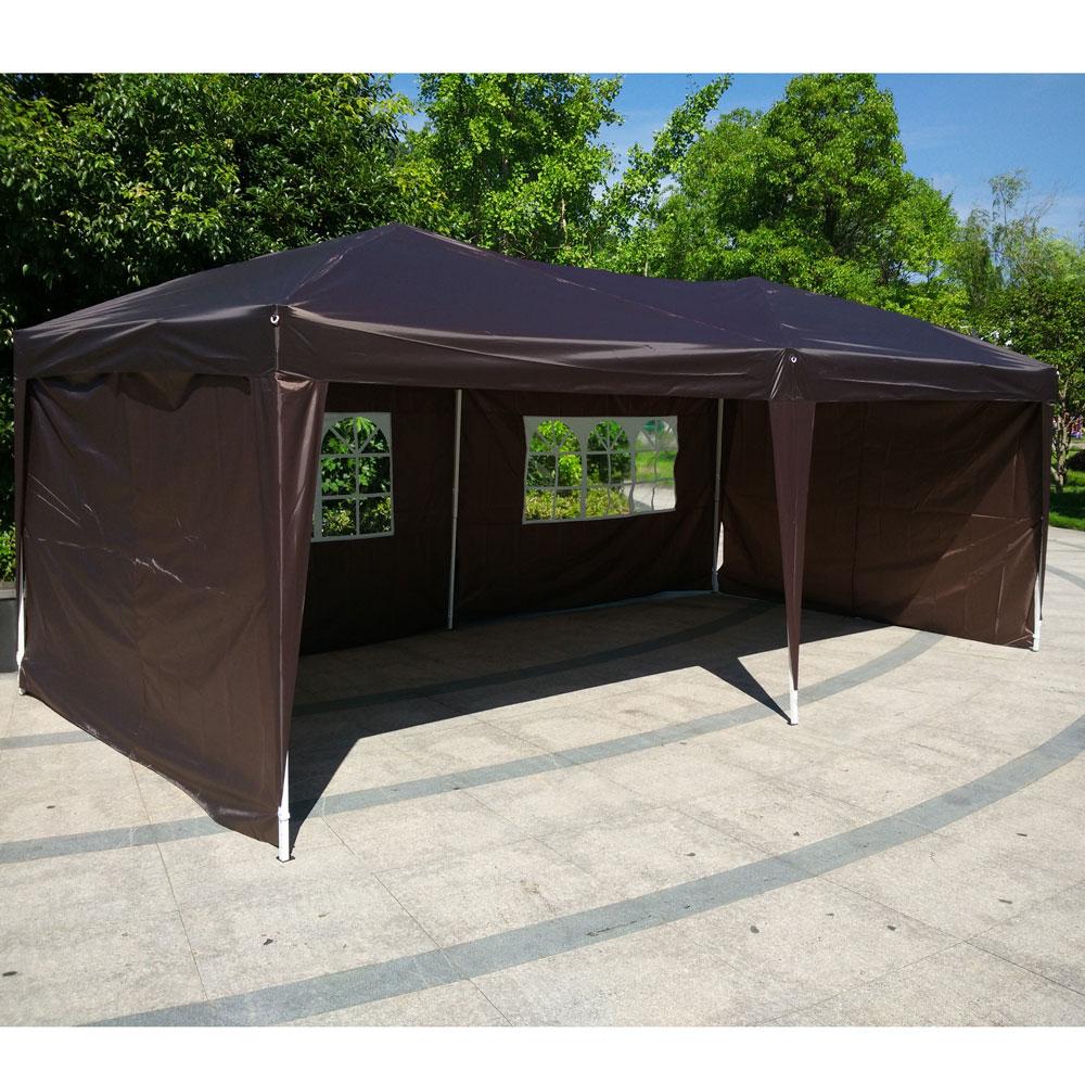 10x20 Ez Pop Up Wedding Party Tent Folding Gazebo Canopy
