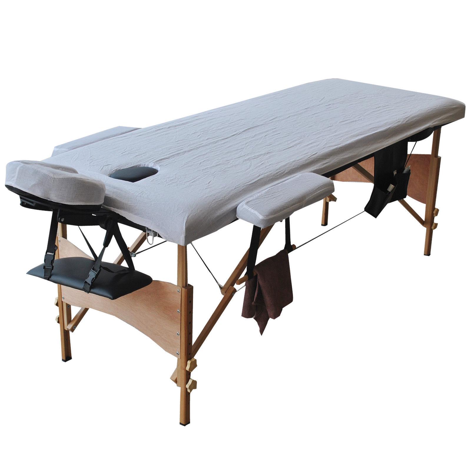 84 Quot L Massage Table Portable Facial Spa Bed W Sheet Cradle