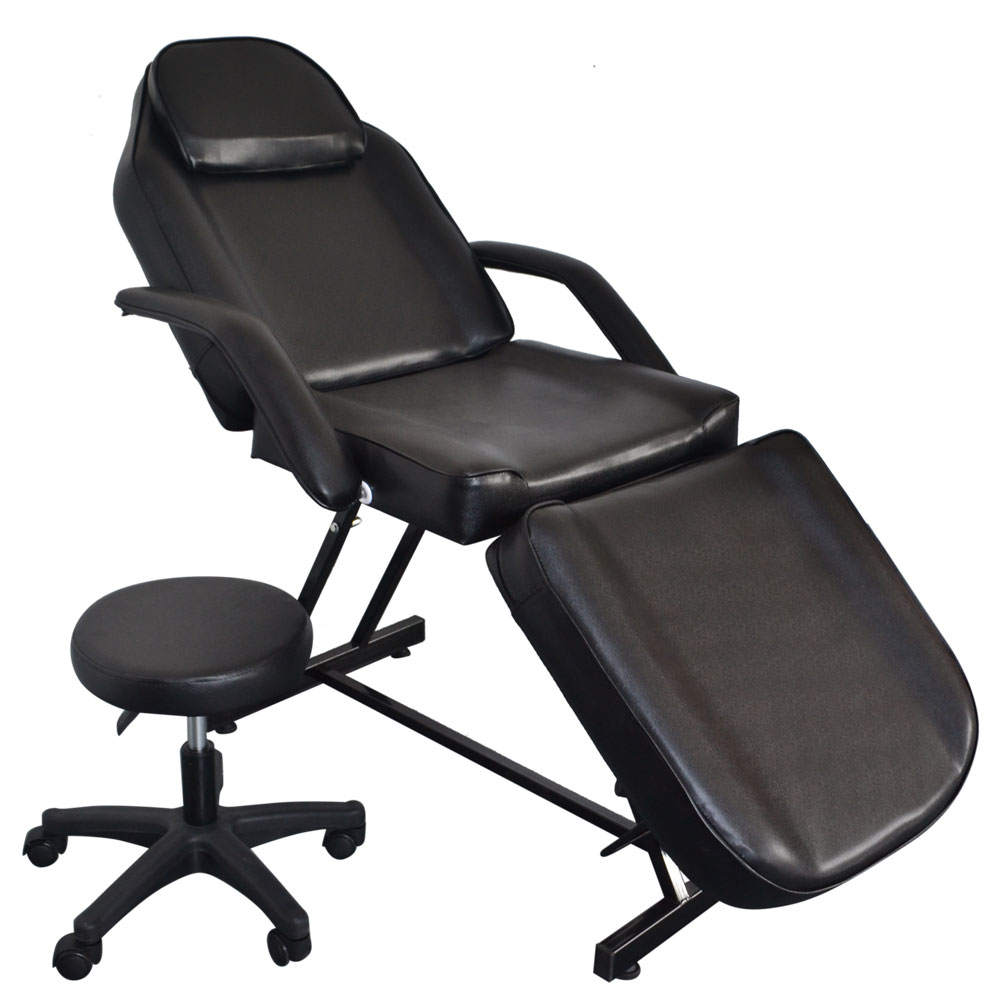 Outstanding Details About 73 Adjustable Tattoo Massage Bed Facial Beauty Barber Chair W Hydraulic Stool Pabps2019 Chair Design Images Pabps2019Com