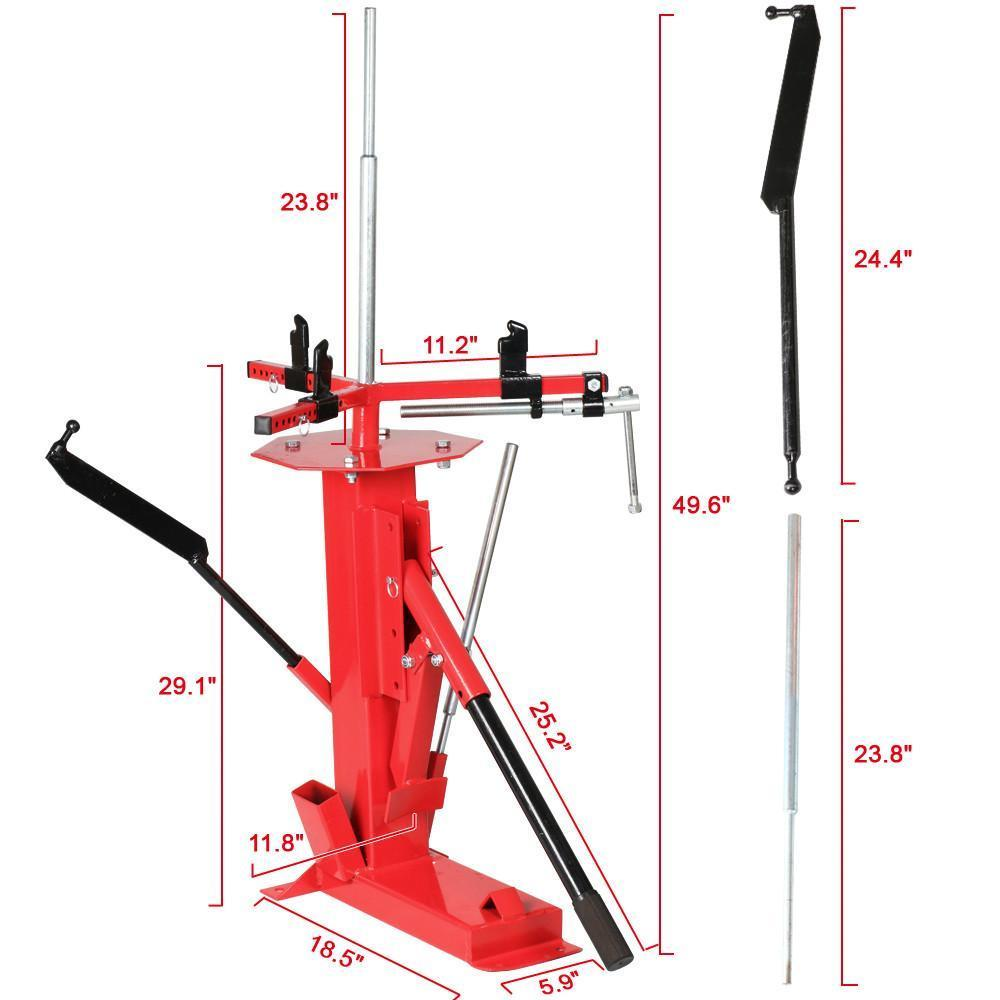 multifunctional manual hand car tire changer for 4 to 16 1 2 tires rh ebay com manual atv tire changing machine best manual atv tire changer