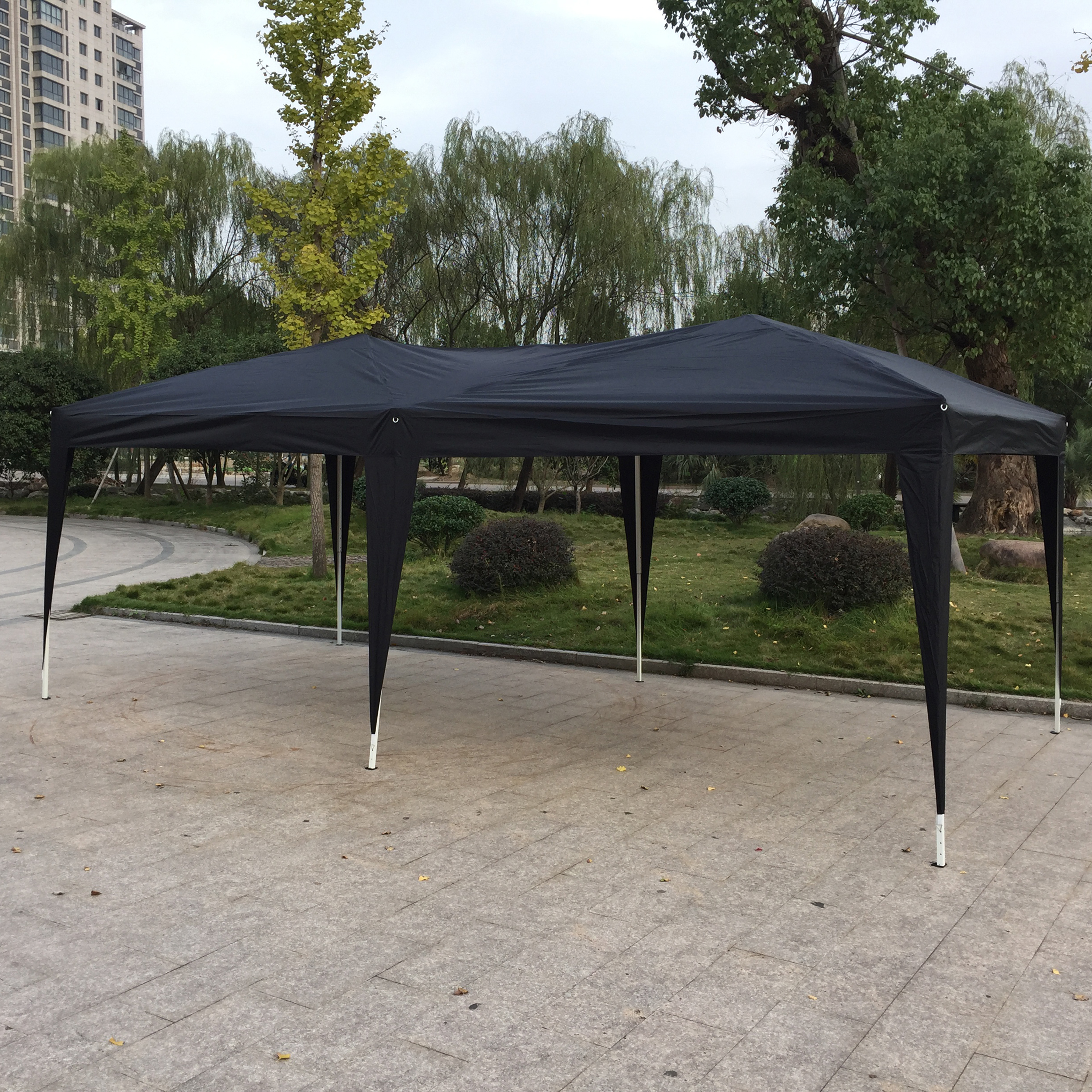 10u0027x 20u0027 EZ Pop UP Wedding Party Tent Gazebo Canopy 6 Sidewalls w/Carry Bag & 10u0027x 20u0027 EZ Pop UP Wedding Party Tent Gazebo Canopy 6 Sidewalls w ...
