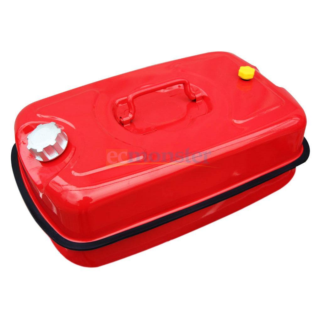 Portable Gas Tank : New gallon liter metal safety gas tanks horzontal