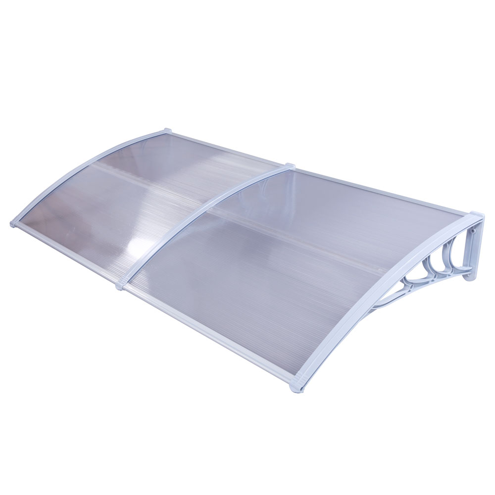 Canopy from polycarbonate do it yourself. Step by step installation instructions. Cost of materials 46