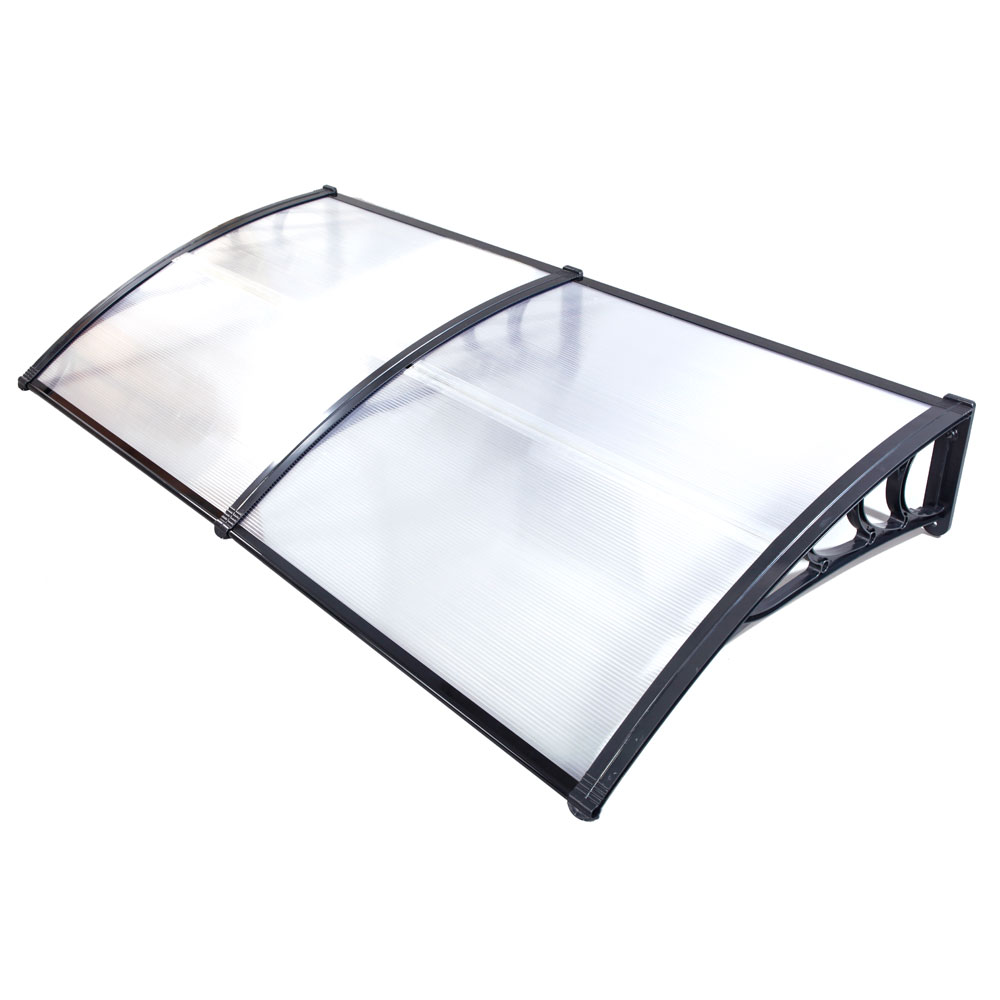 Canopy from polycarbonate do it yourself. Step by step installation instructions. Cost of materials 26