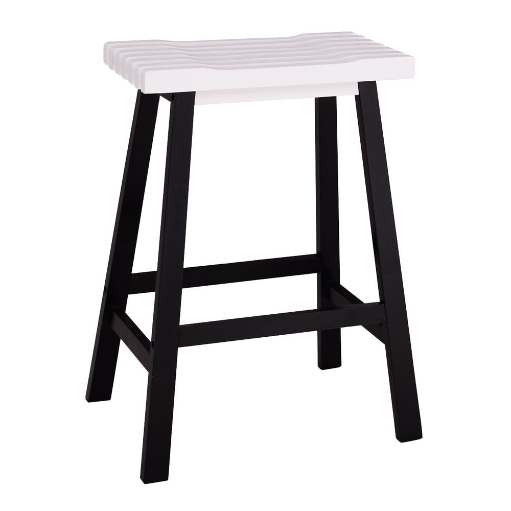 Bar Stools Home Kitchen Counter Dining Room Saddle Seat