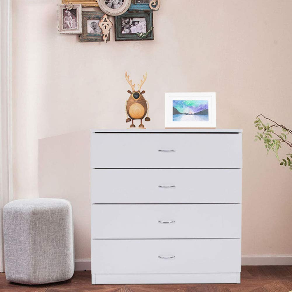. Details about Chest of Drawers Dresser 4 Drawer Discount Furniture Cabinet  Bedroom Storage