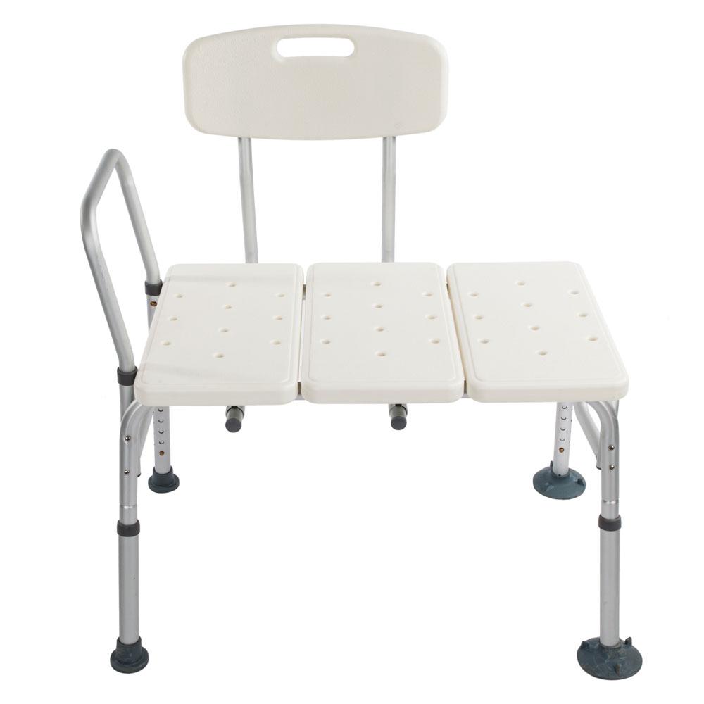 Shower Chair 10 Height Adjustable Bath Tub Medical Shower Transfer ...