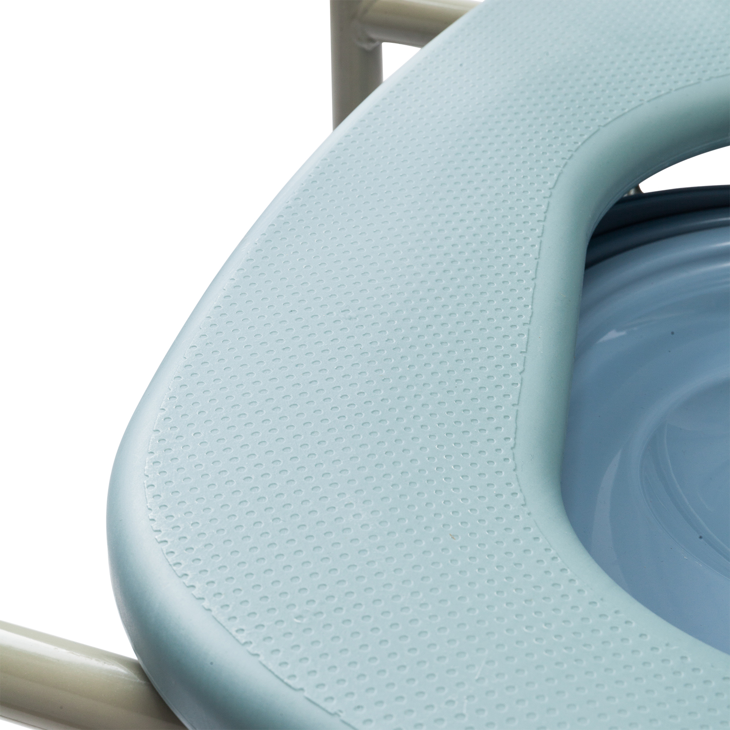 Adult Potty Chair Toilet Seat Commode Bedside Steel Bariatric by ...
