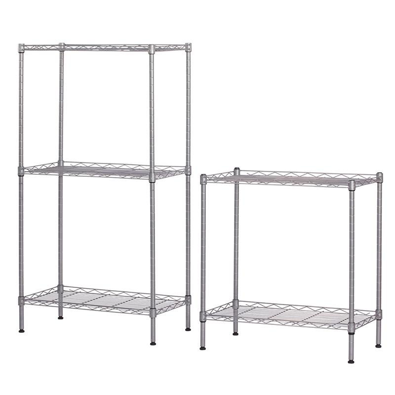 5 Tier Wire Shelving | New 5 Tier Wire Shelving Rack Adjustable Shelf Storage Unit Heavy