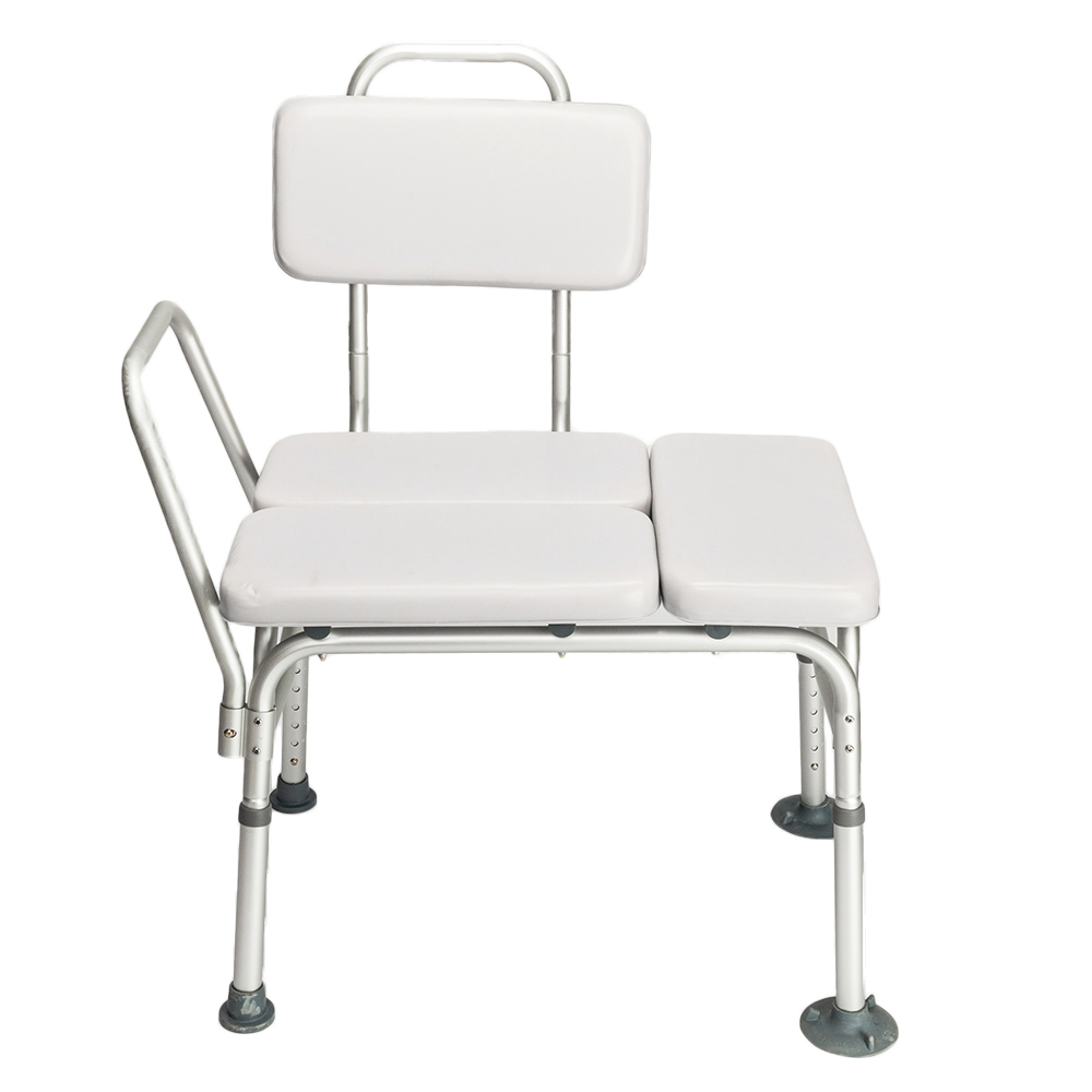 Drive Medical Handicap Shower Chair W/Padded Seat & Backrest Bath ...