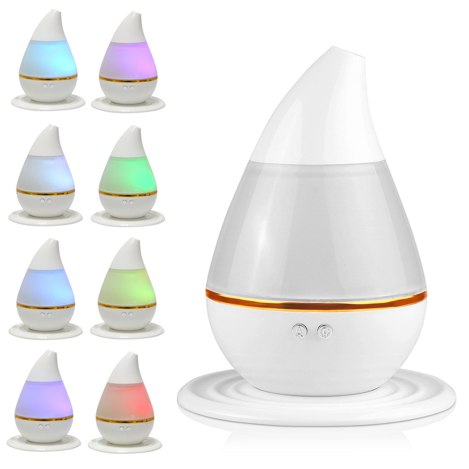 Walmart Electric Oil Diffuser ~ Led aroma humidifier purifier mist maker air aromatherapy
