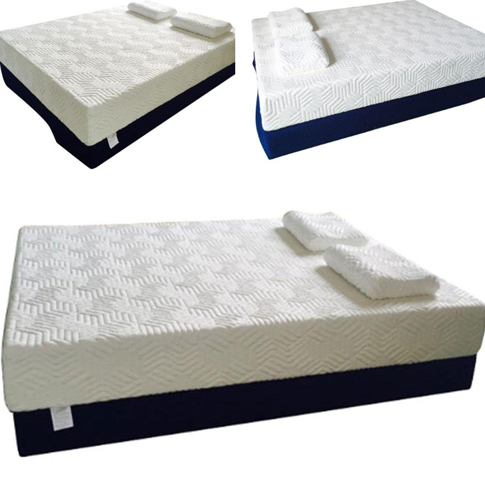 14 three layers cool medium firm memory foam mattress. Black Bedroom Furniture Sets. Home Design Ideas