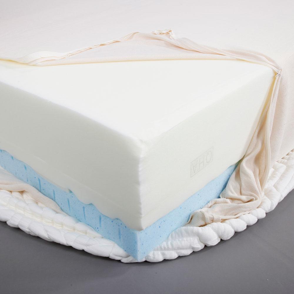 10 three layer queen size cool medium firm memory foam. Black Bedroom Furniture Sets. Home Design Ideas
