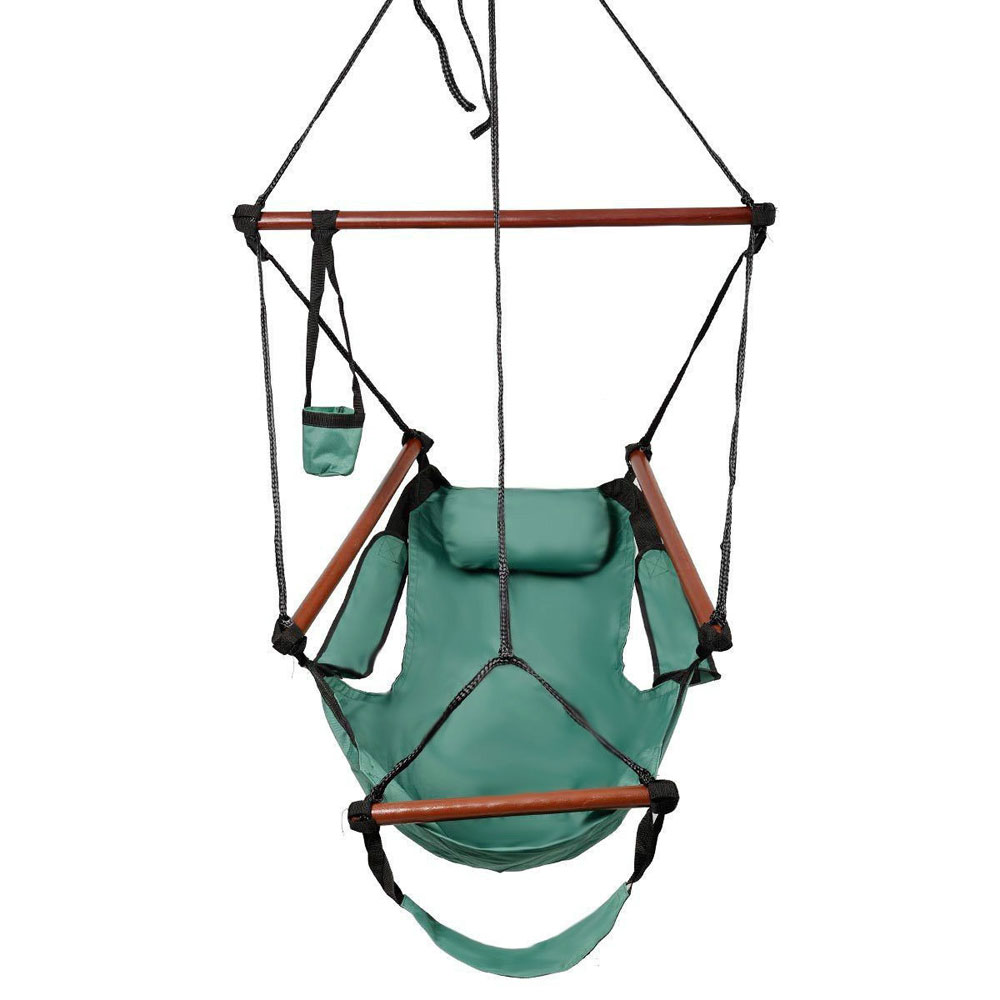 Hammock Chair Swing Seat Indoor Outdoor Garden Patio Yard