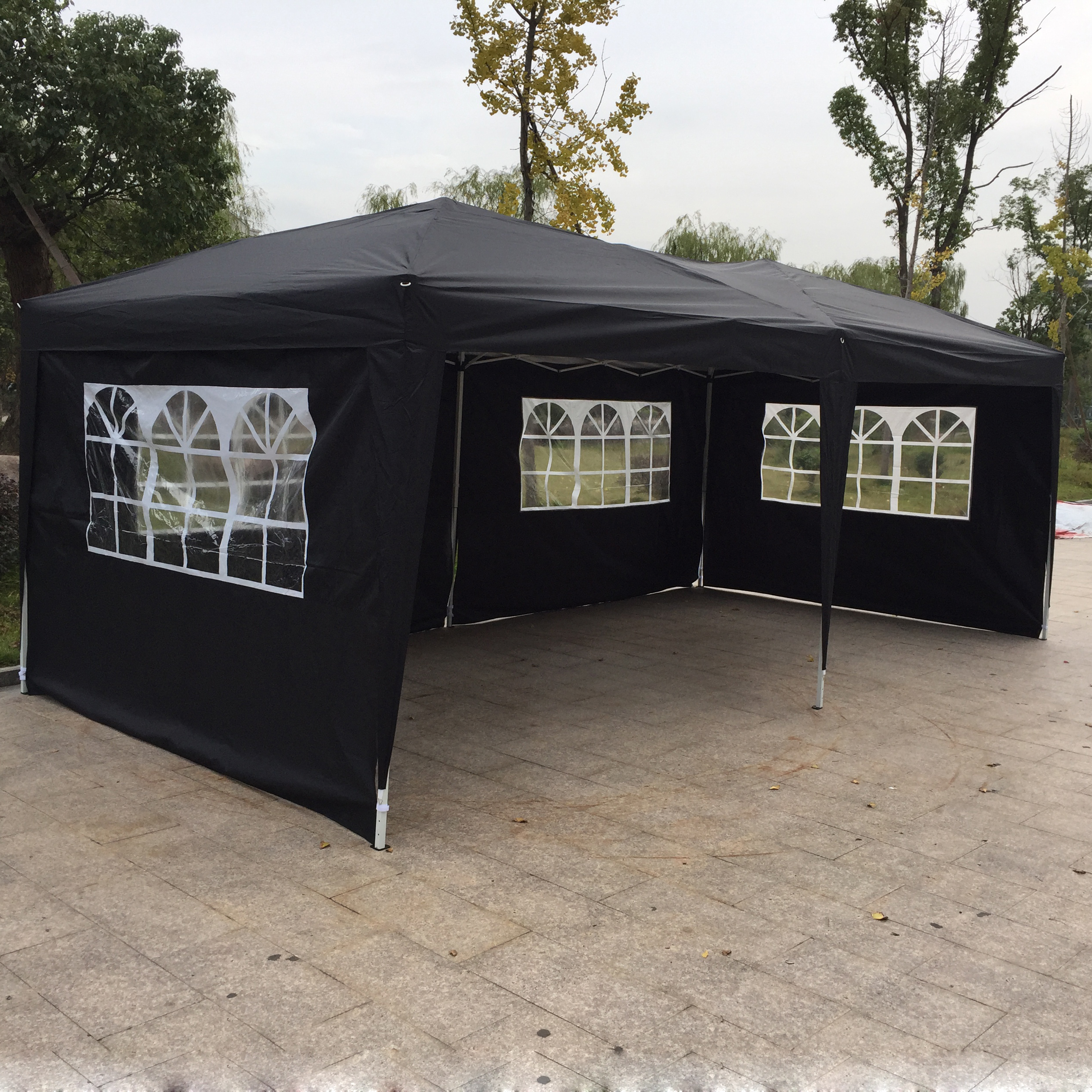 Pop Up Sidewalls : X ez pop up wedding party tent gazebo canopy