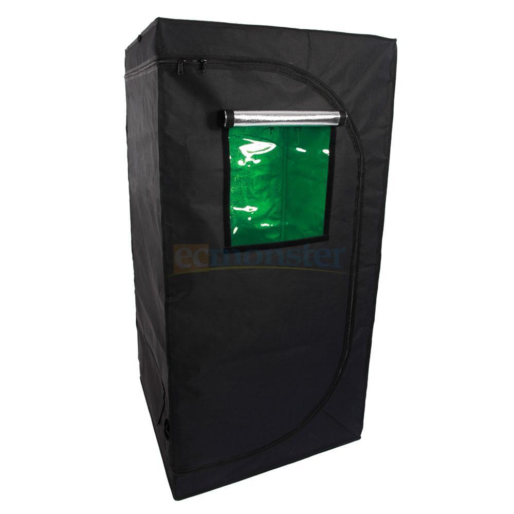 32 x 32 x 64 reflective mylar hydroponics indoor grow for Indoor gardening reflective material
