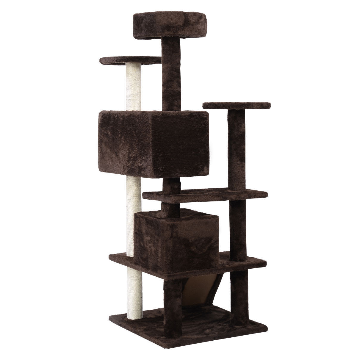 52 cat tree tower condo kitty pet house play safe toy. Black Bedroom Furniture Sets. Home Design Ideas