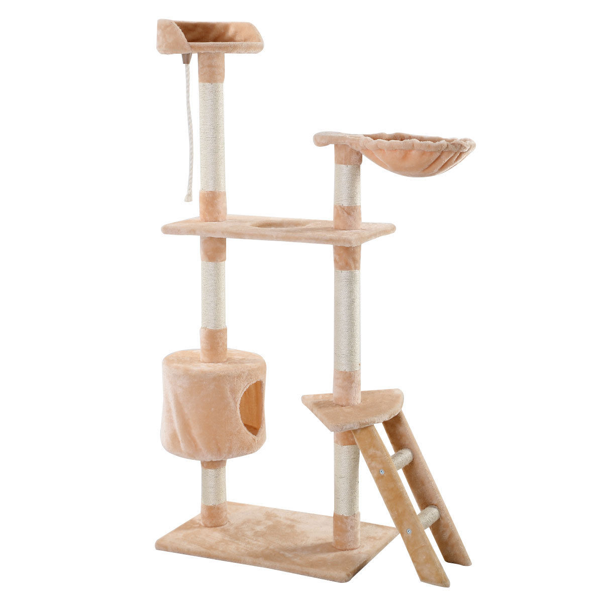 60 cat tree hammock tower condo scratcher furniture kitten