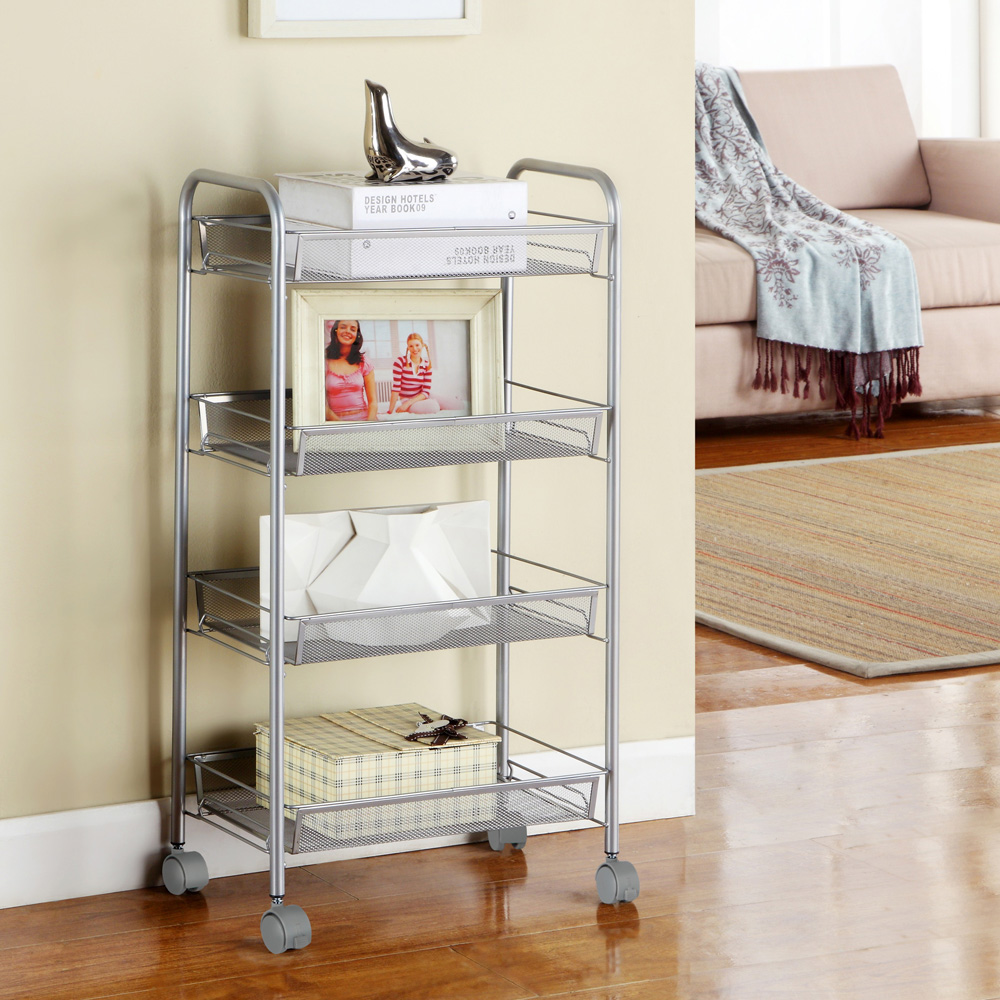kitchen racks and storage 3 4 5 layer rack shelf shelving rolling kitchen pantry 5543