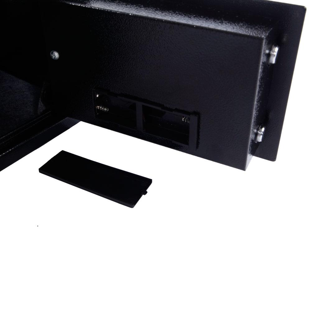 12 5 stark black valueables gun safe electronic digital. Black Bedroom Furniture Sets. Home Design Ideas