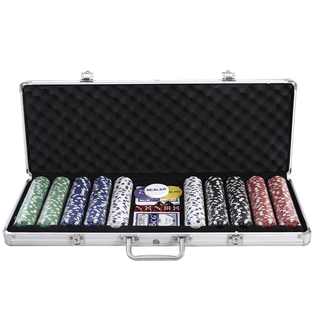How many chips in a poker set mallette pc roulette