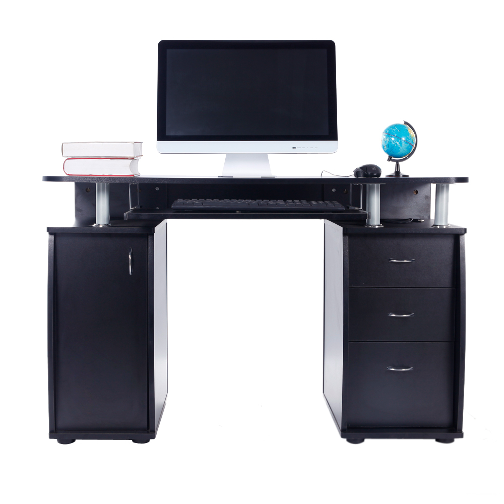 home office computer workstation. Perfect Home New Computer Desk PC Laptop Table WDrawer Home Office Study Workstation 3  Color To C