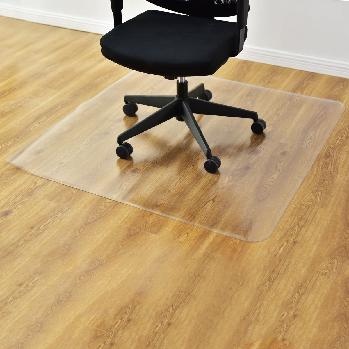 Home Office 59x48Protect Hard Floor PVC Mat Square Rolling Chair