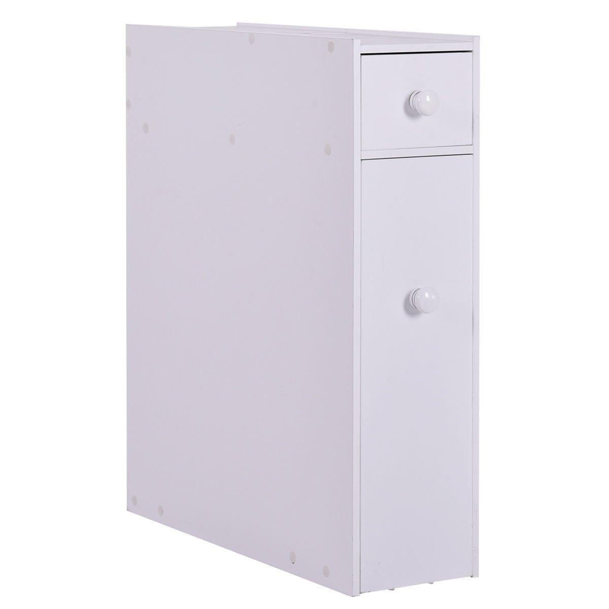 NEW Bathroom Floor Cabinet Storage Toilet Bath Organizer Drawer ...
