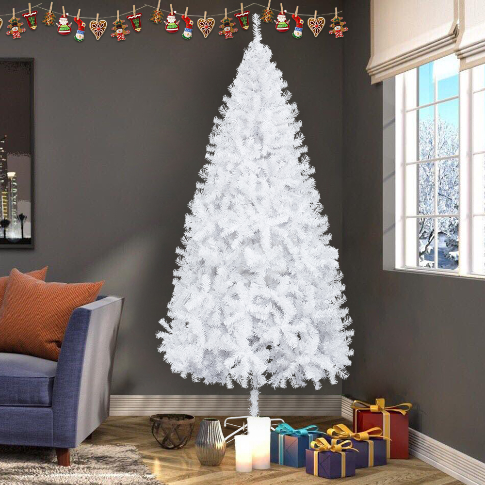7Ft Artificial PVC Christmas Tree W/Stand Holiday Season Indoor ...